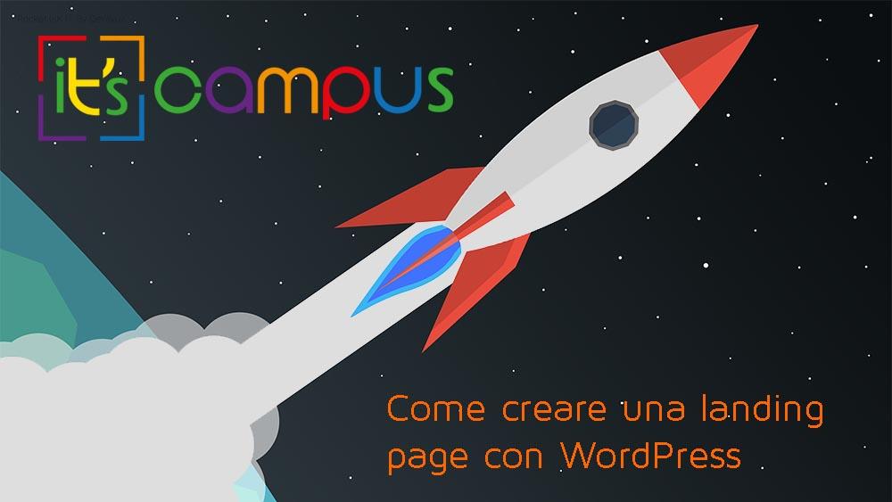 Come creare una landing page con WordPress (mini-guida)